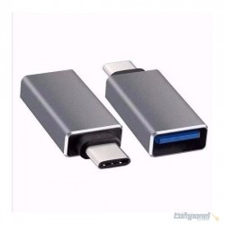 Adaptador USB Femea x Tipo C Macho OTG